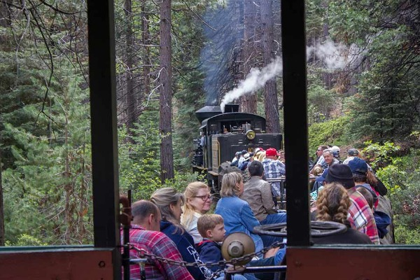 Yosemite Mountain Sugar Pine Railroad Thornberry Museum