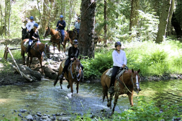 Yosemite Trails Pack Station riders