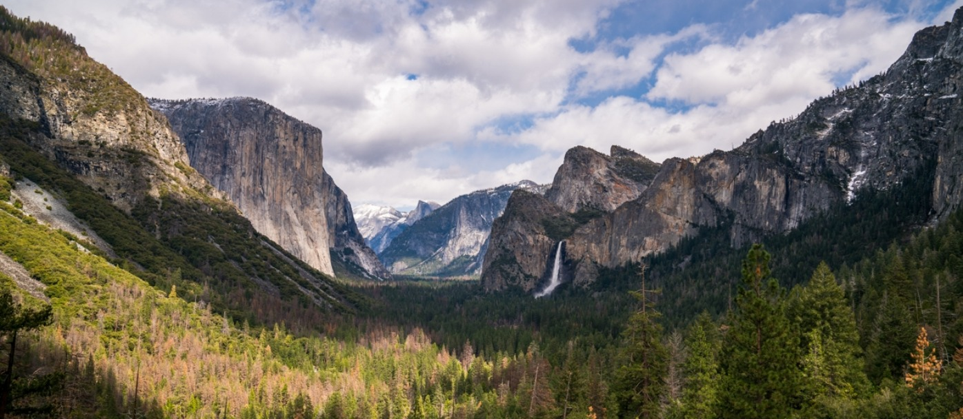 Tunnel View in Yosemite