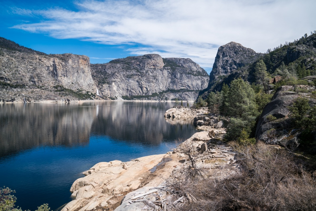 Yosemite's Hetch Hetchy in March 2018