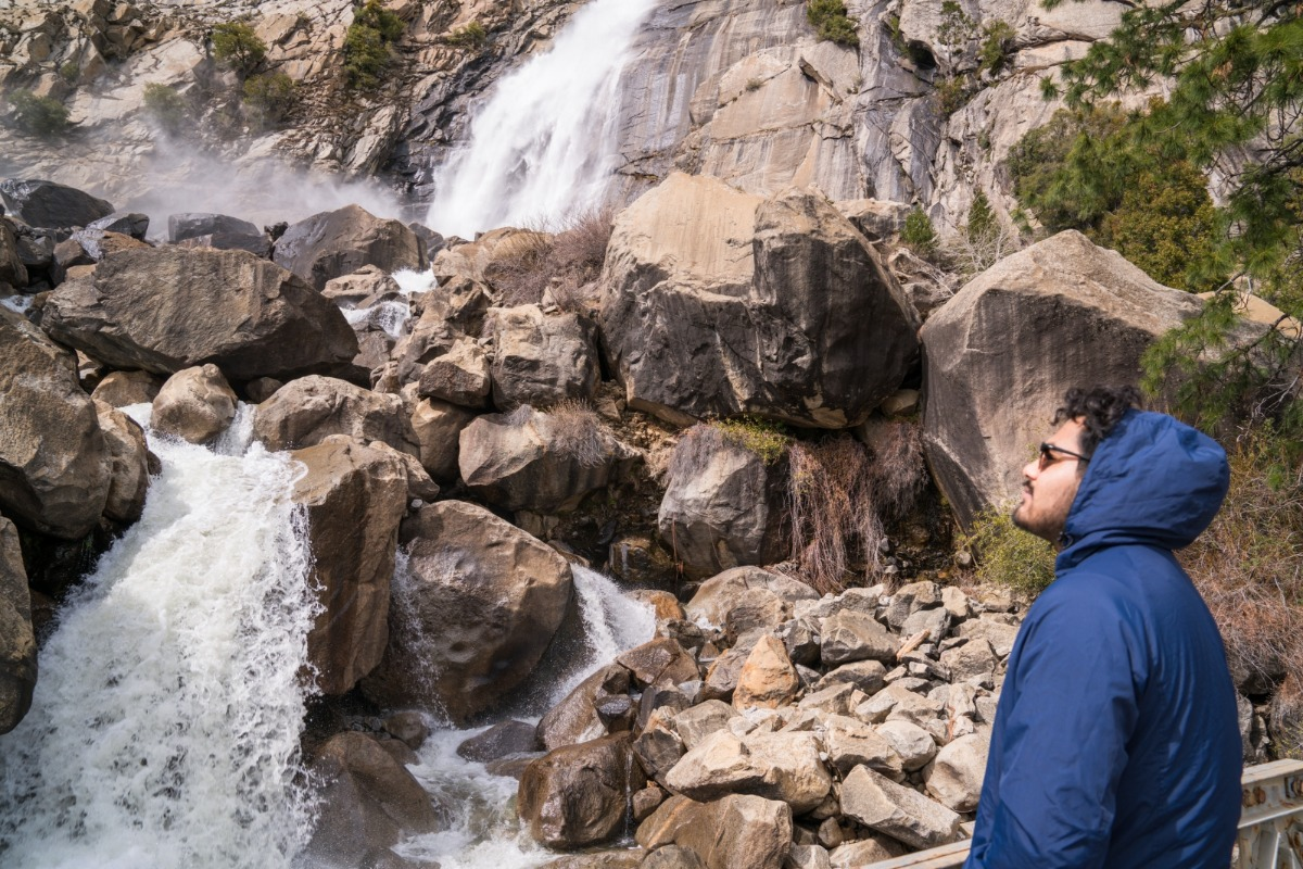 Wapama Falls in Yosemite's Hetch Hetchy
