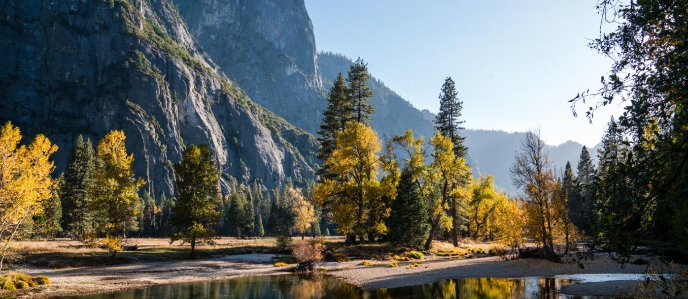 Fall Colors Along Yosemite's Merced River