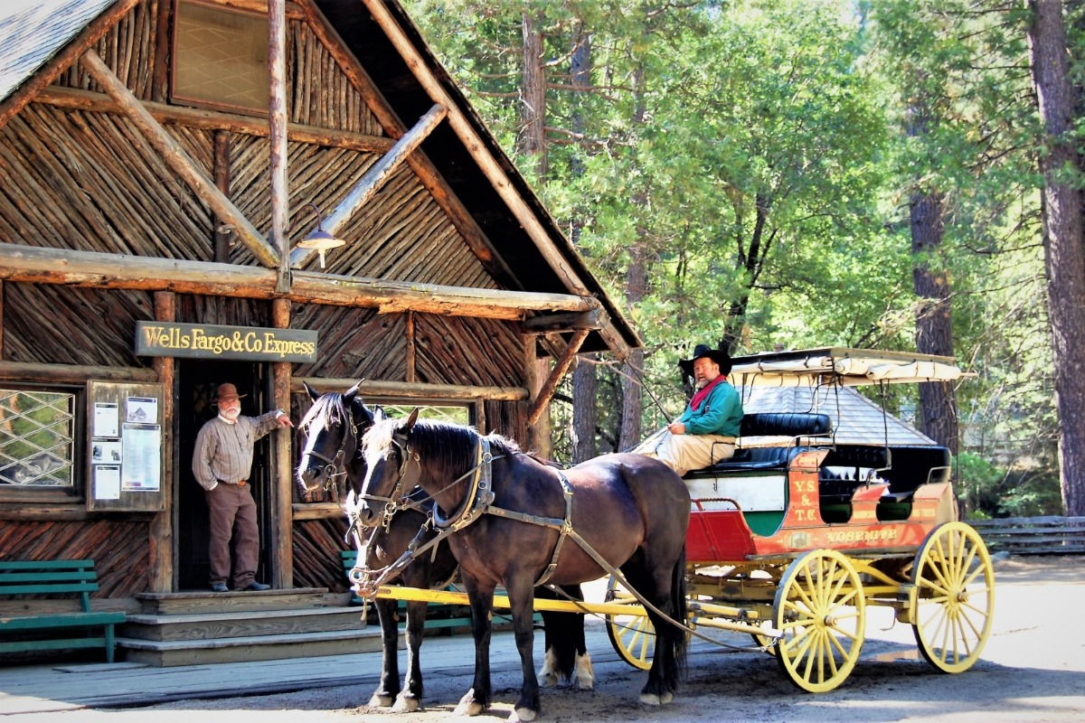 Historic Wawona's Pioneer Village