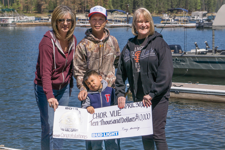 Bass Lake Fishing Derby 2016 Winner