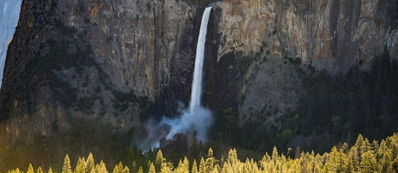 Yosemite's Bridalveil Fall