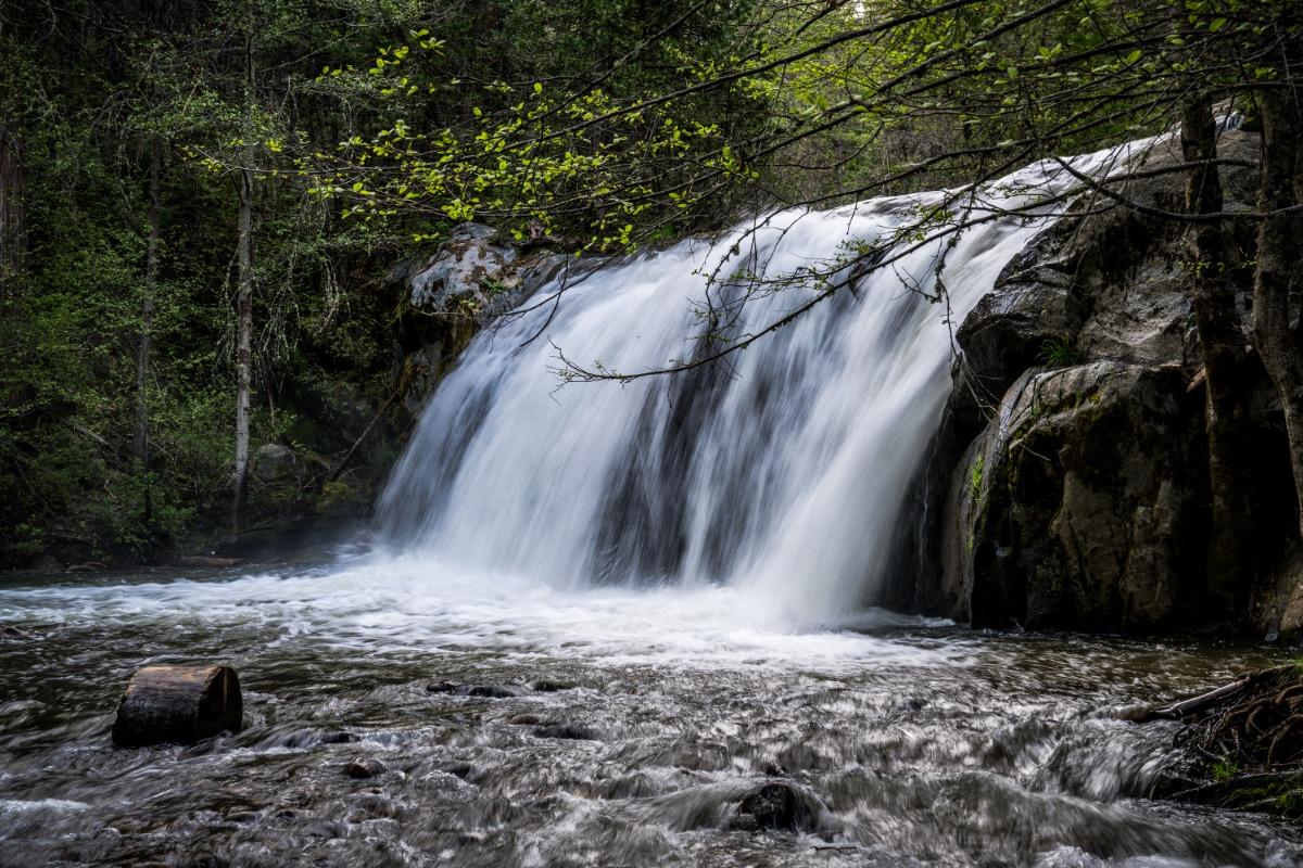 Red Rock Falls, Waterfall, Lewis Creek, Hiking, Trails