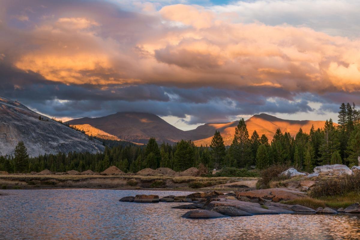 Autumn Sunset in Yosemite's Tuolumne Meadows