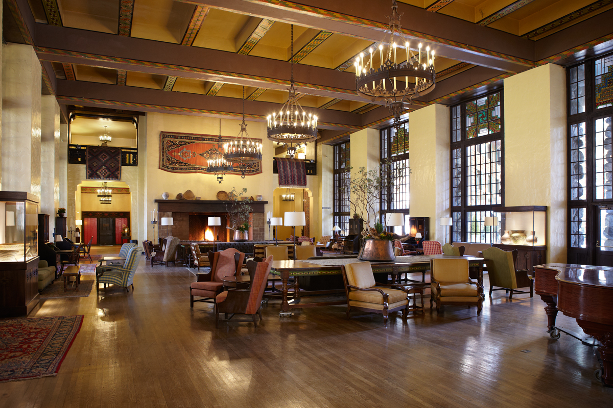 The Ahwahnee Great Lounge - wide view