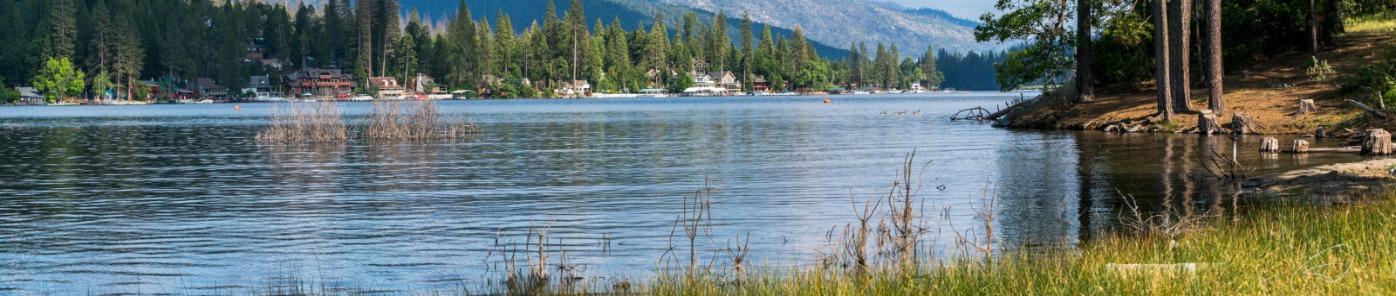 Bass Lake California near Yosemite