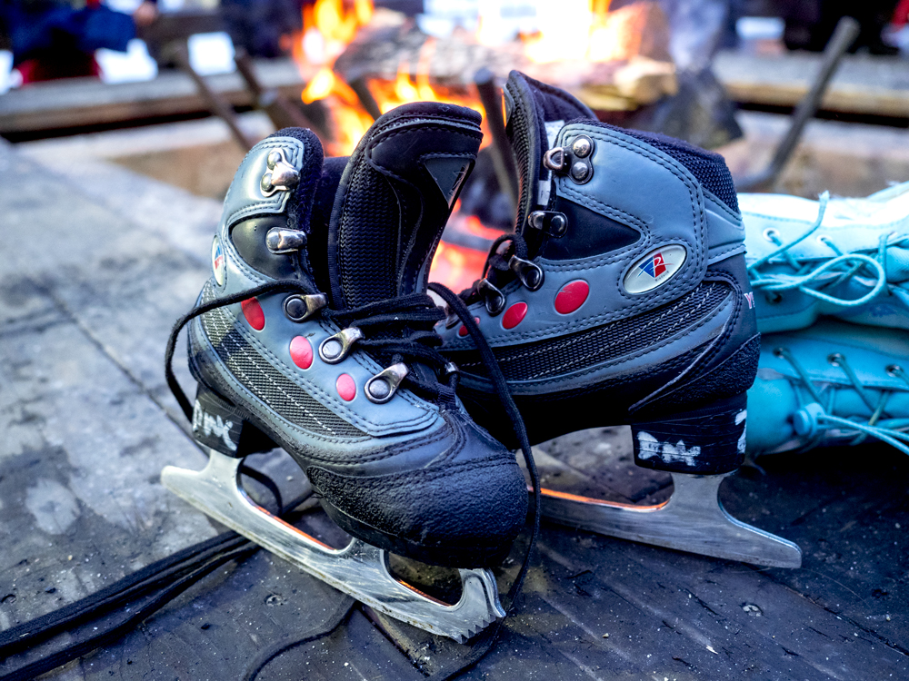 Skates available at the Curry Village Ice Skating Rink