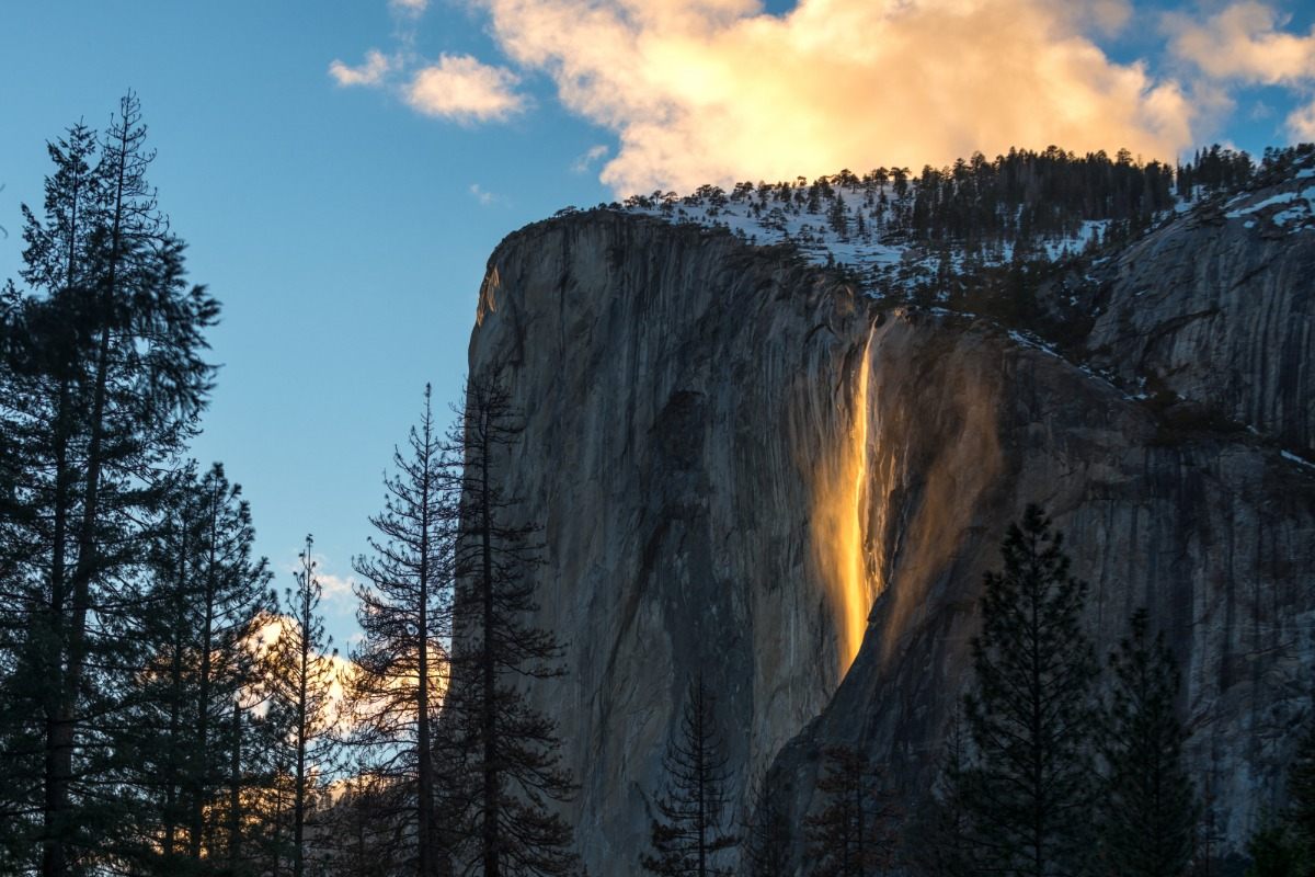 Horsetail Fall Event