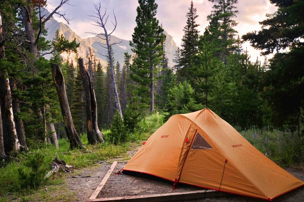 WIlderness camping in the Sierra National Forest