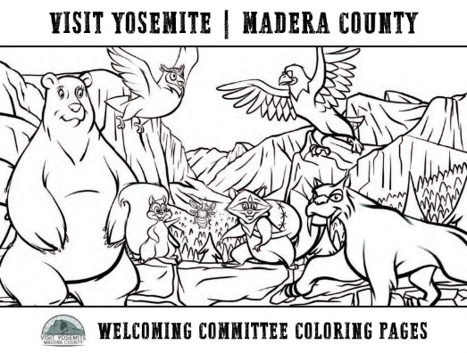 Welcoming Committee Coloring Pages Cover