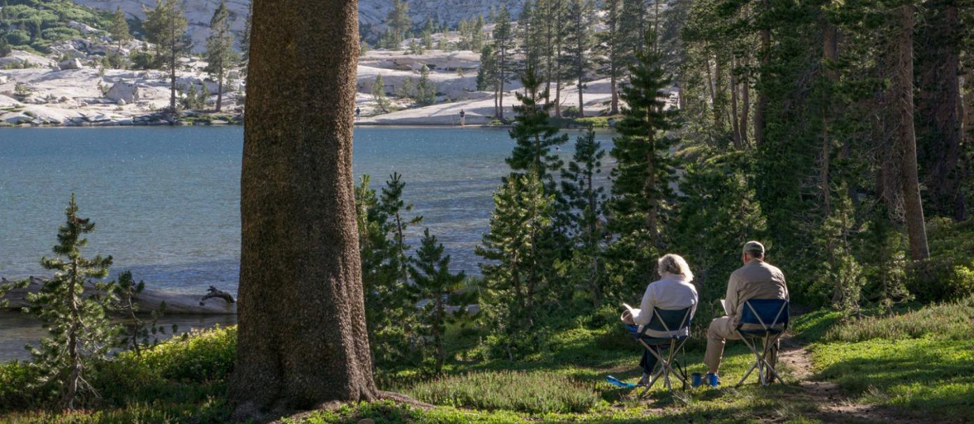 Camping in Yosemite High Sierra