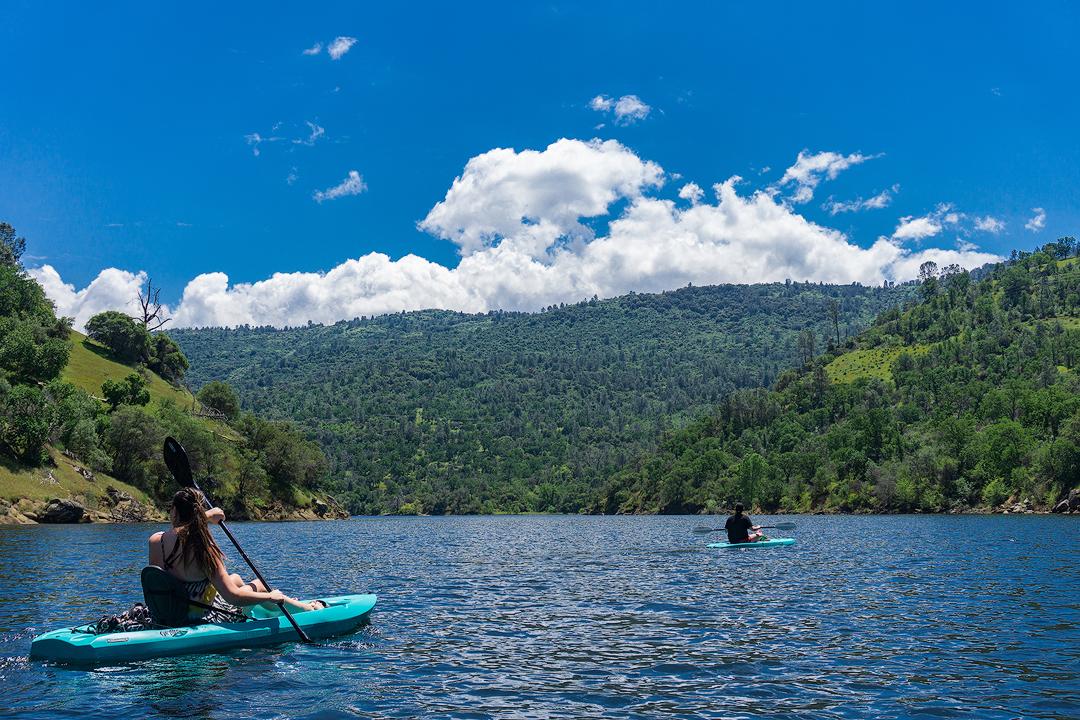 Kayaking at Reddinger Lake
