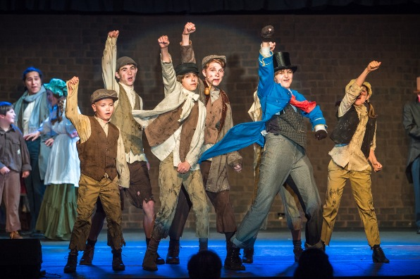 """""""Oliver!"""" at the Golden Chain Theatre"""