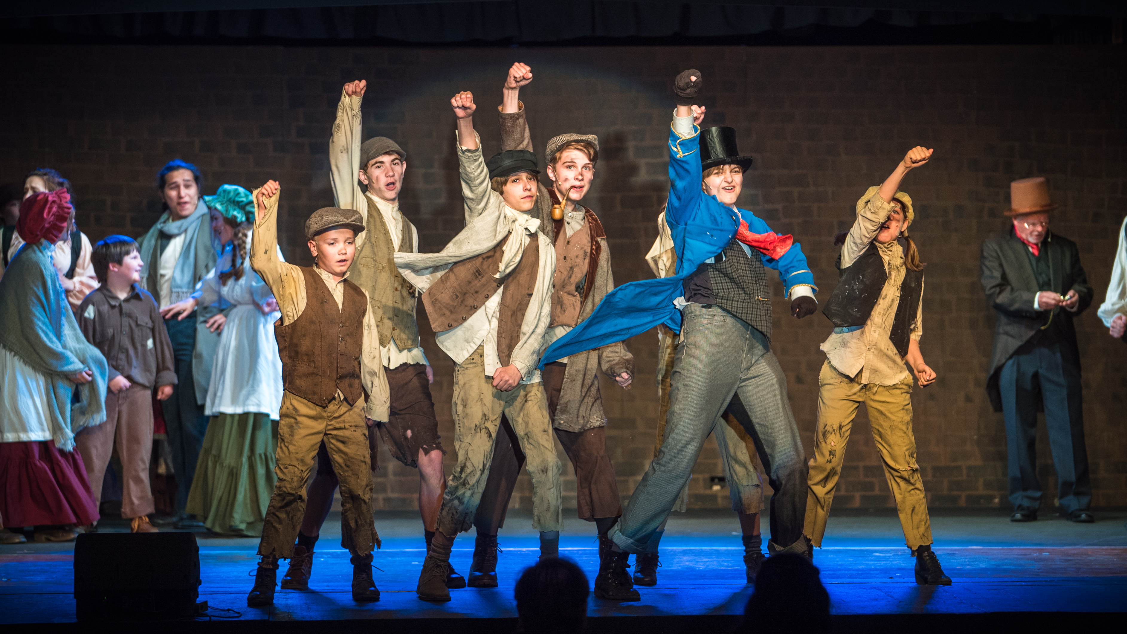 """Oliver!"" at the Golden Chain Theatre"