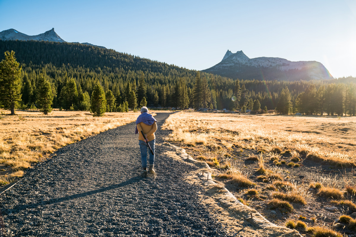 Many unique landmarks can be enjoyed in a stroll in Yosemite's High Country