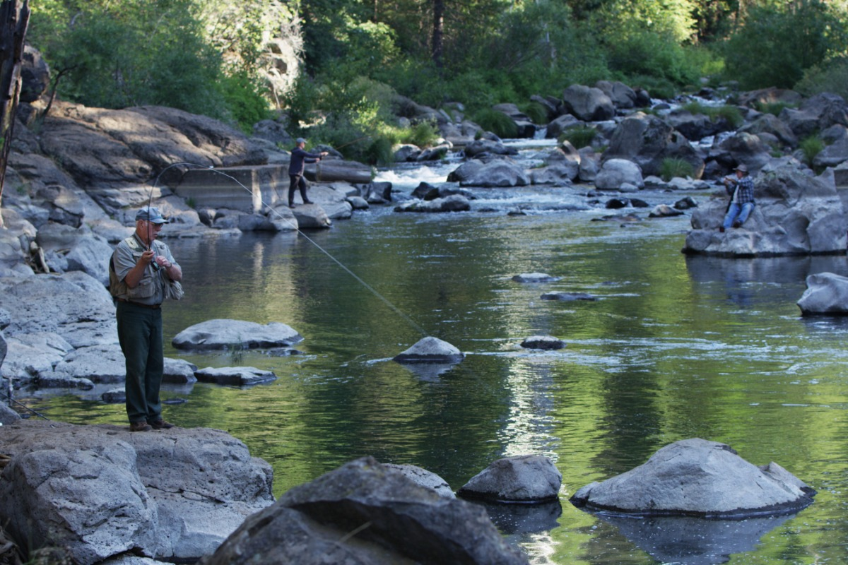 Fishing along the Sierra Vista Scenic Byway