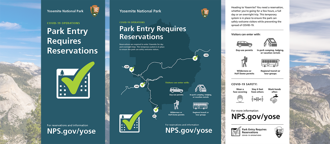 Entry to Yosemite Requires Reservations