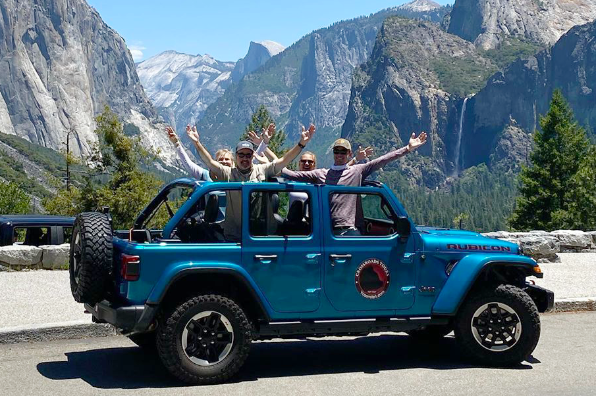 Crossroads Tours at Yosemite's Tunnel View