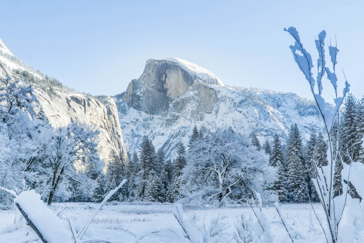 Half Dome Winter Wonderland