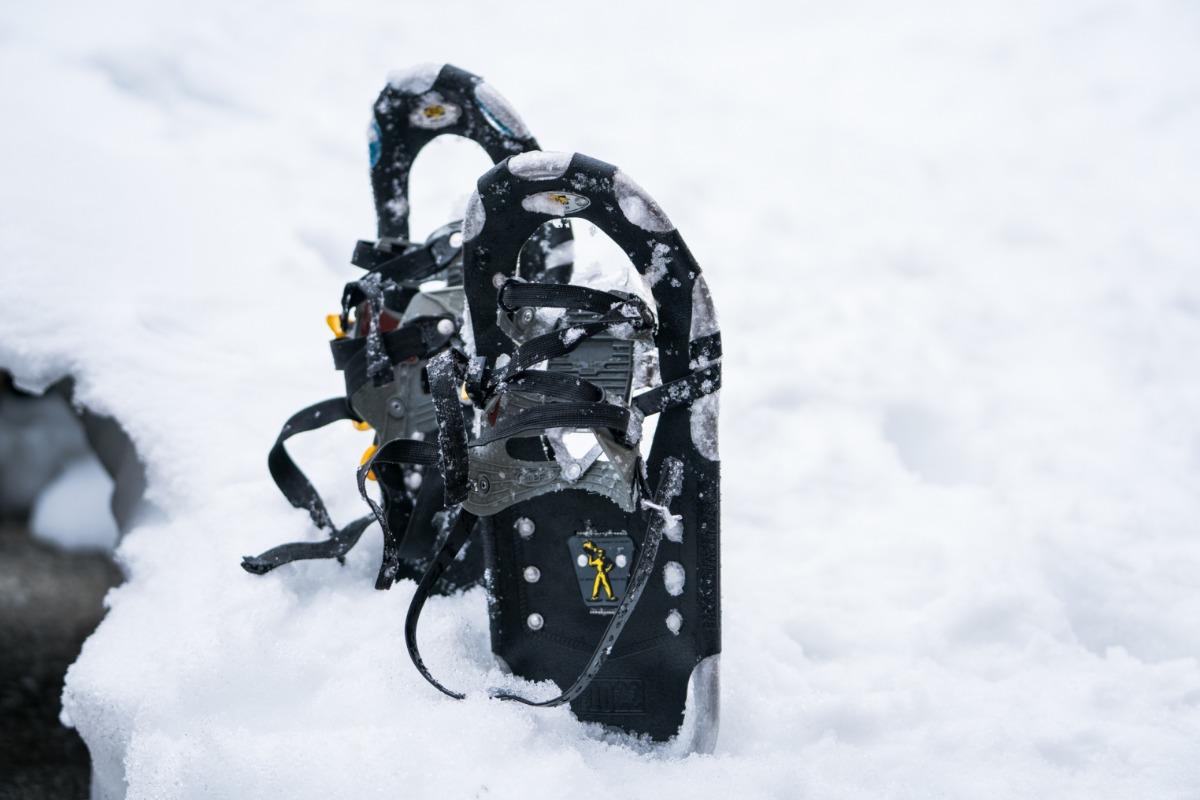 Snowshoes in Yosemite