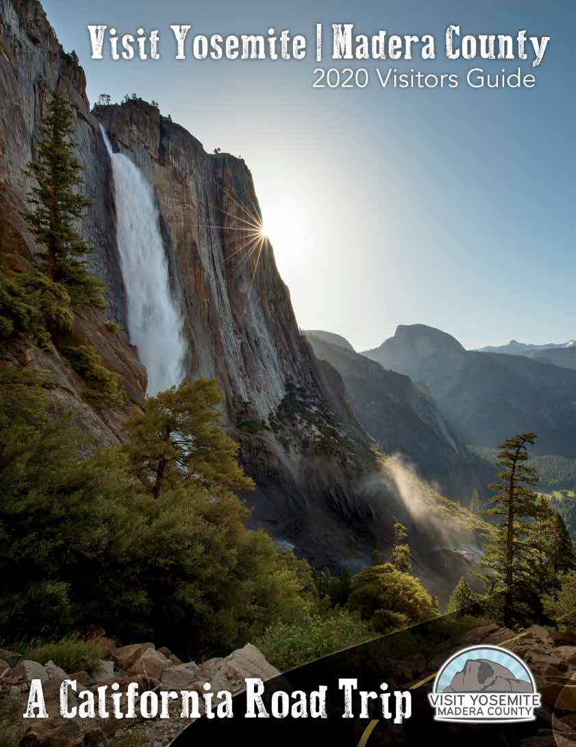 2020 Visit Yosemite | Madera County Visitors Guide Cover