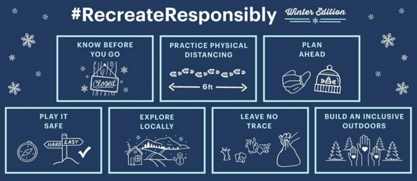 #RecreateResponsibly Winter Edition