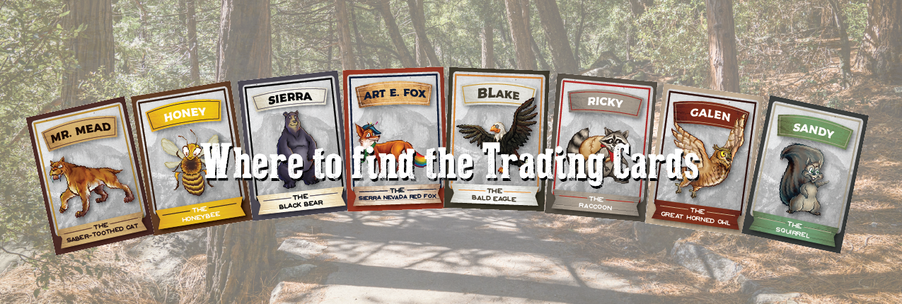 Where to find the Welcoming Committee Trading Cards Navigation Graphic