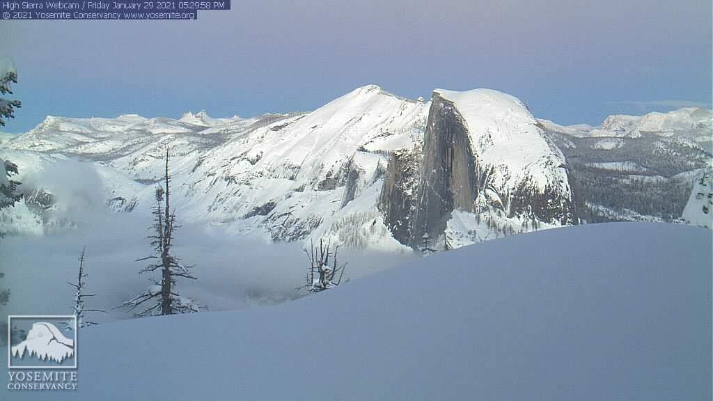 Yosemite Conservancy Webcam atop Sentinel Dome