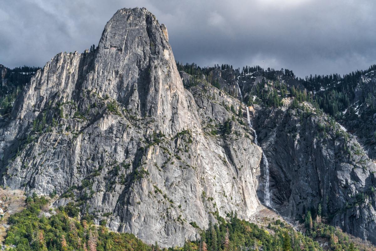 Sentinel Rock and Sentinel Falls