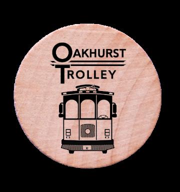 Oakhurst Trolley Token
