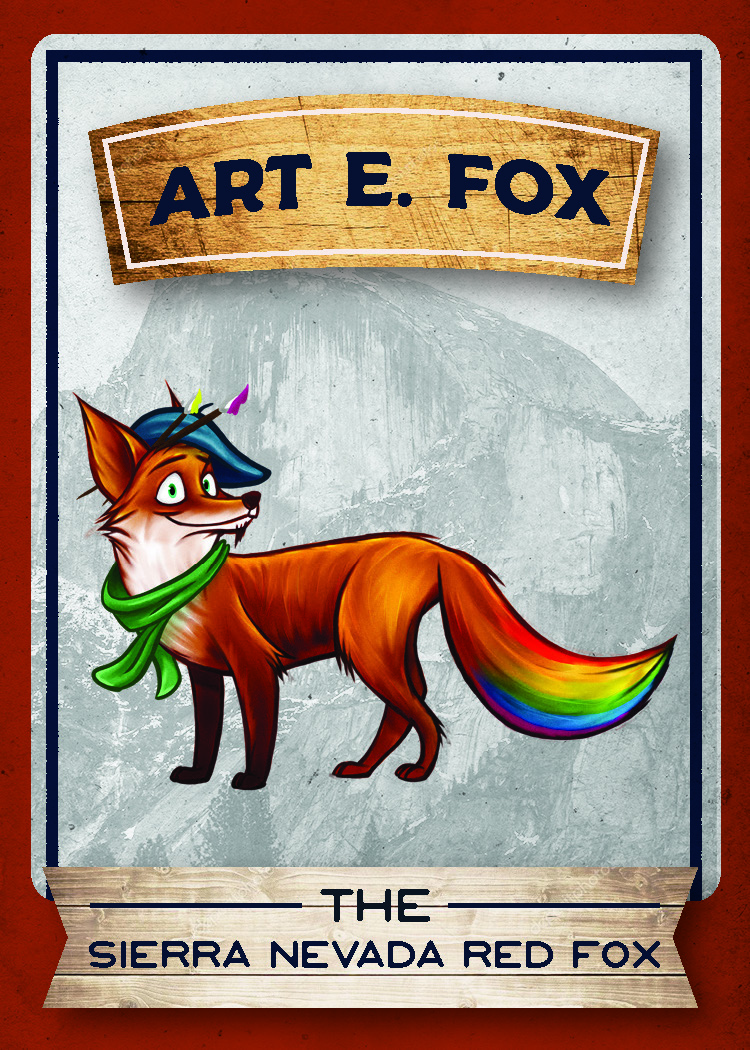 Art E Fox Trading Card