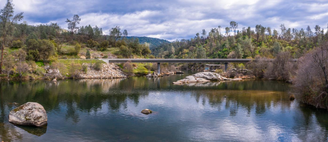 Kerckhoff Lake - san Joaquin River Gorge