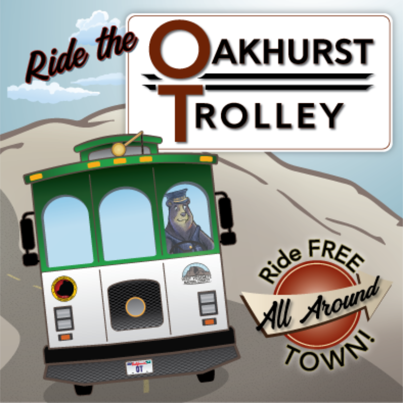 Ride the Oakhurst Trolley - feature block