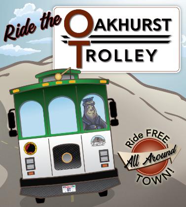 Ride the Oakhurst Trolley