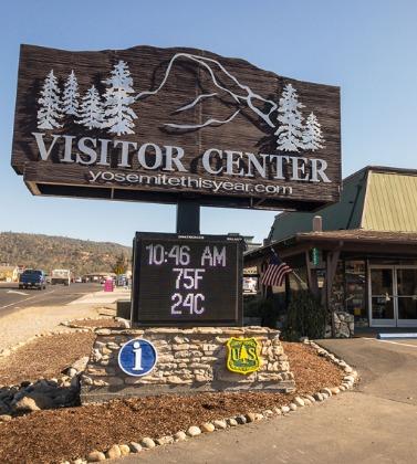 Visitor Center Oakhurst CA