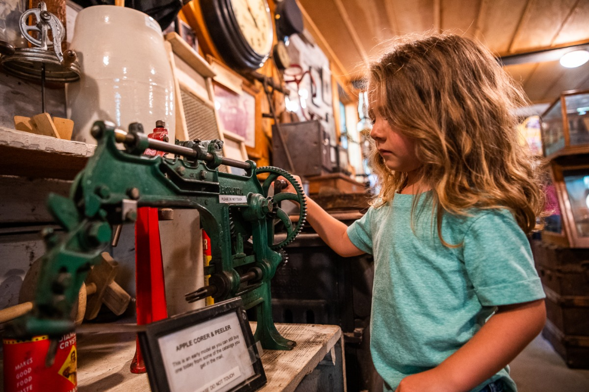 Exploring pioneer history at the Thornberry Museum