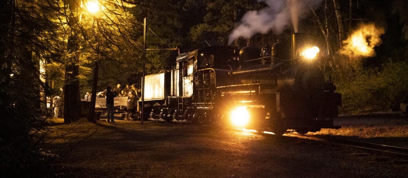 Yosemite Mountain Sugar Pine Railroad Moonlight Express