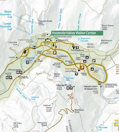 Madera County and Southern Yosemite entrance maps and directions