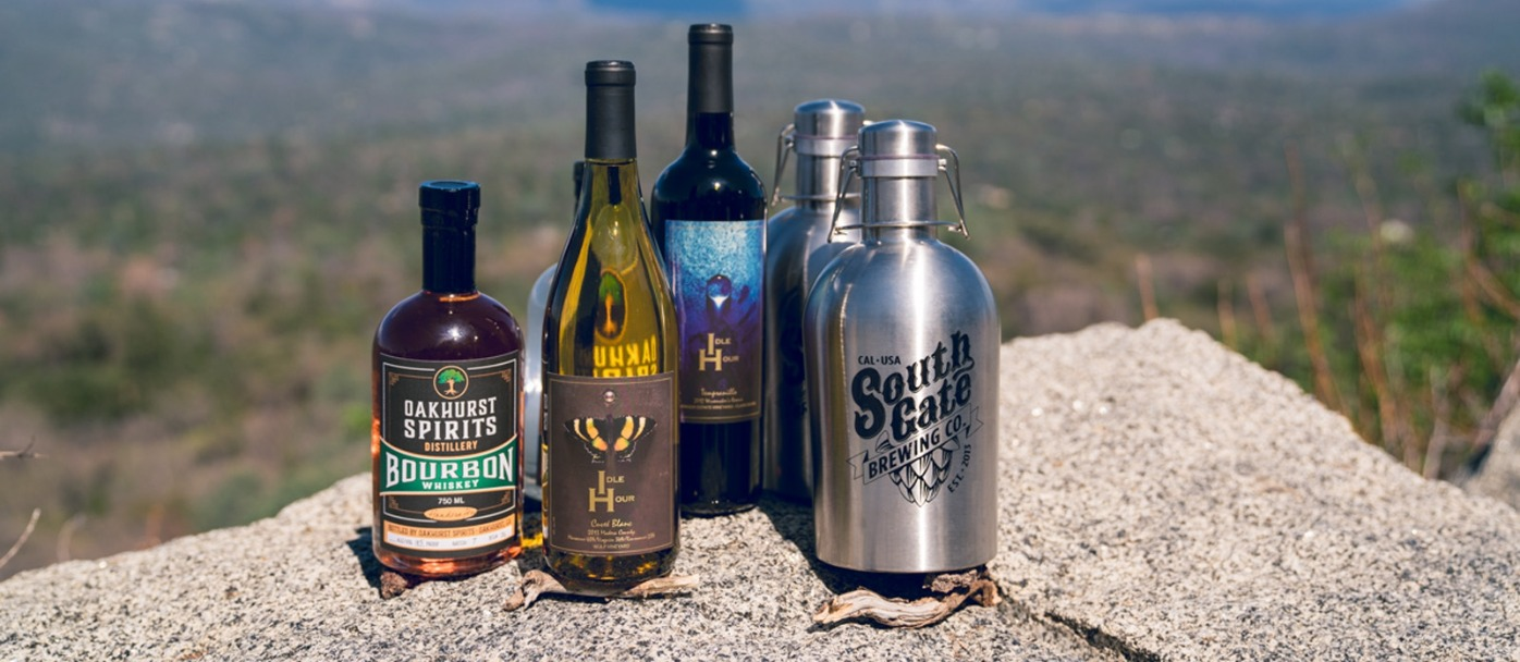 Toast of Oakhurst: South Gate Brewing Co, Idle Hour Winery, and Oakhurst Spirits