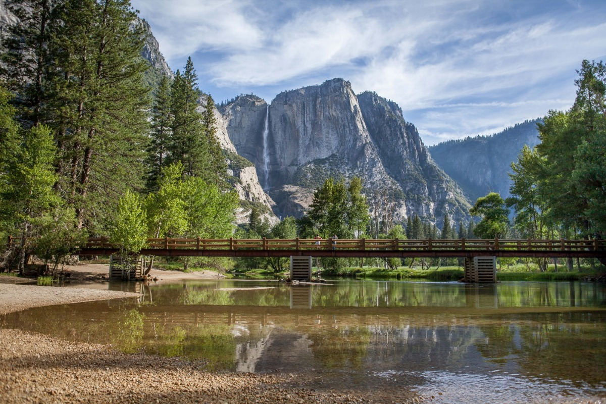 Sentinel Bridge in Yosemite Valley