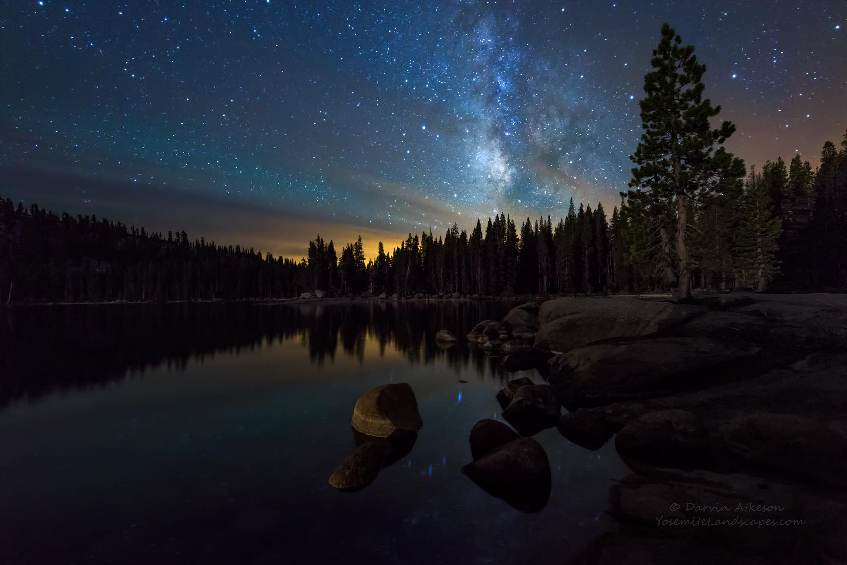 Milky Way Over Yosemite's Tuolumne Meadows